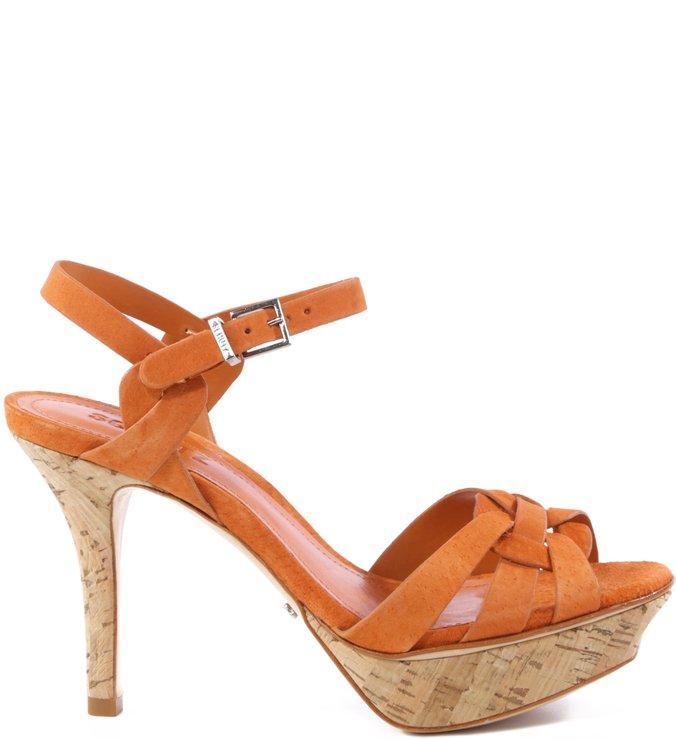 Sandália Orange Ochre