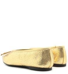 Sapatilha Pointy Dourada