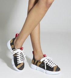 Sneaker New Chunky Zebra Black