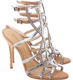 Sandália Ankle Strip Glam Toasted Nut