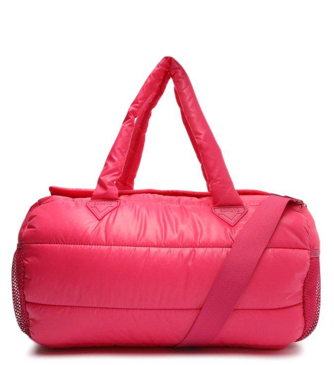 Bolsa Tiracolo Grande Sportz Nylon Rosa