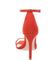Sandália Single Stiletto Red Orange