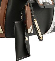 Crossbody Wallet Triangle Black