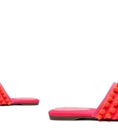 Flat Mule Fun Pink