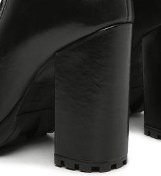 Combat Boots Tratorada Leather Black