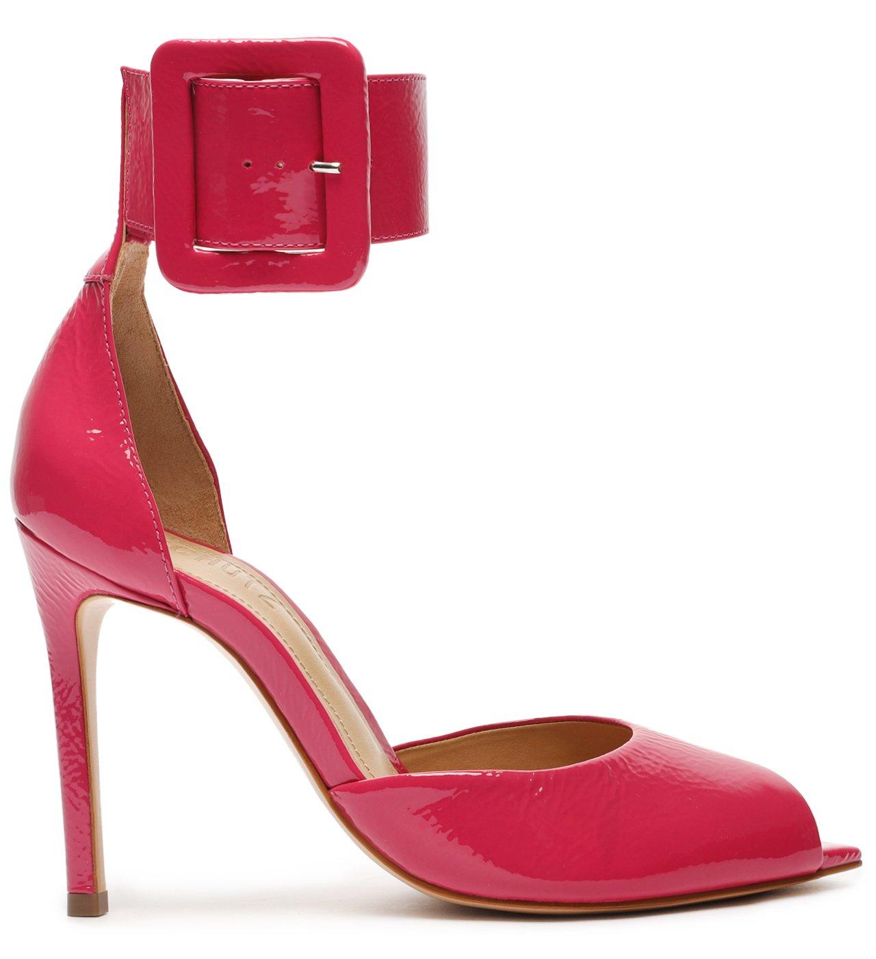 Sapato Scarpin Salto Alto Verniz Vermelho | Schutz