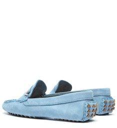 Sapato Mocassim Nobuck Triangle Jeans