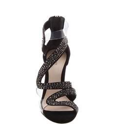 Flat Forms Stiletto Black