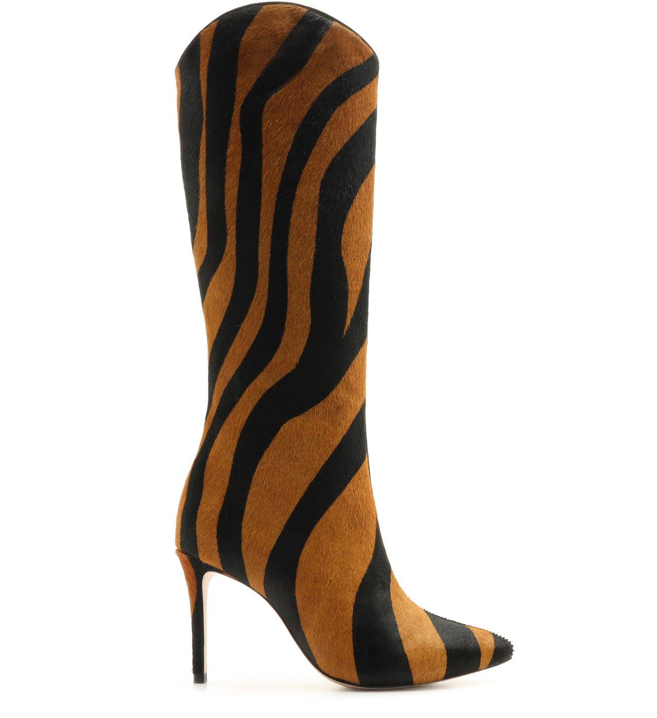 Bota Cano Longo Zebra Soft | Schutz