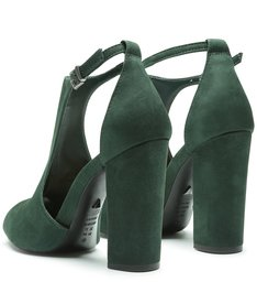 Sandália Block Heel Green