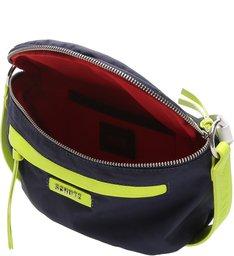Retro Bag Blue Neon