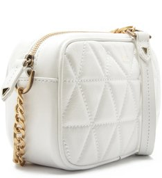 Mini Crossbody Matelassê Maxi White
