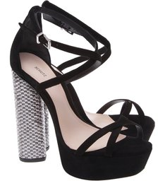 Sandália Disco Heel Black