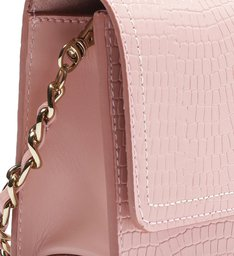 CROSSBODY LORENA CROCO ROSE