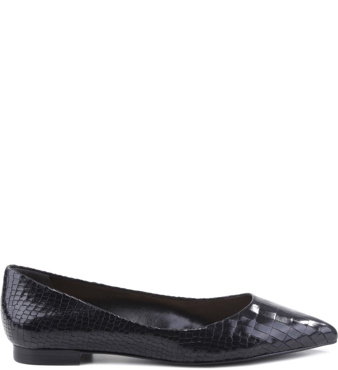Sapatilha Classic Thin Point Croco Black