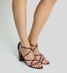 Sandália Python Curves Red