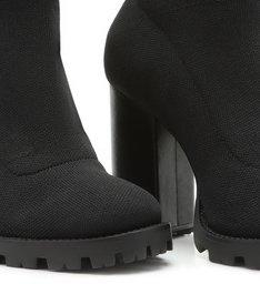 Sock Boot High Black