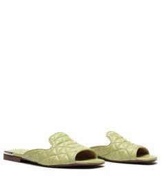 Flat Slide Matelassê Candy Green