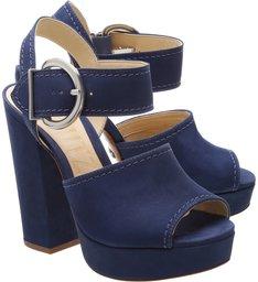 Sandália Maxi Belt Dress Blue