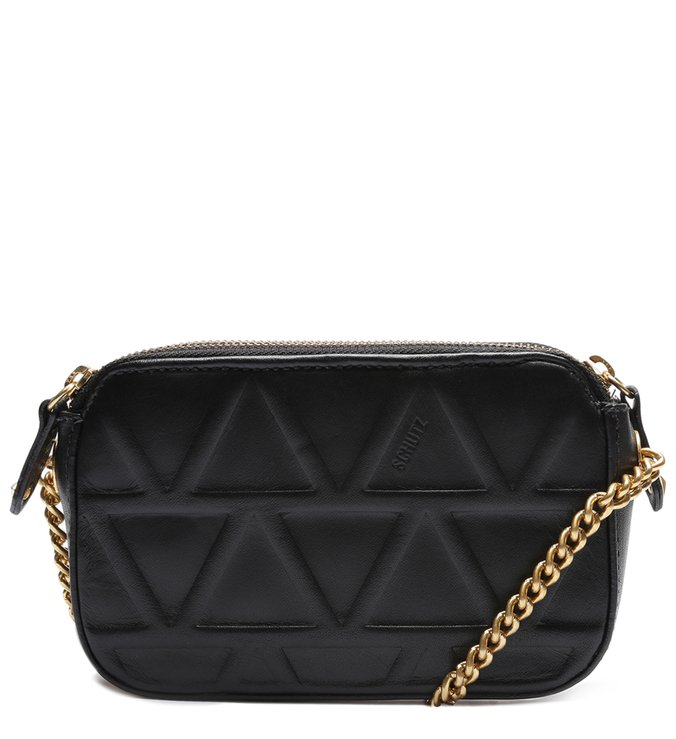 JESS RAINBOWN CROSSBODY POCHETE BLACK