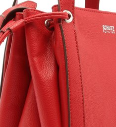 Mini Bucket Bag Crossbody Red