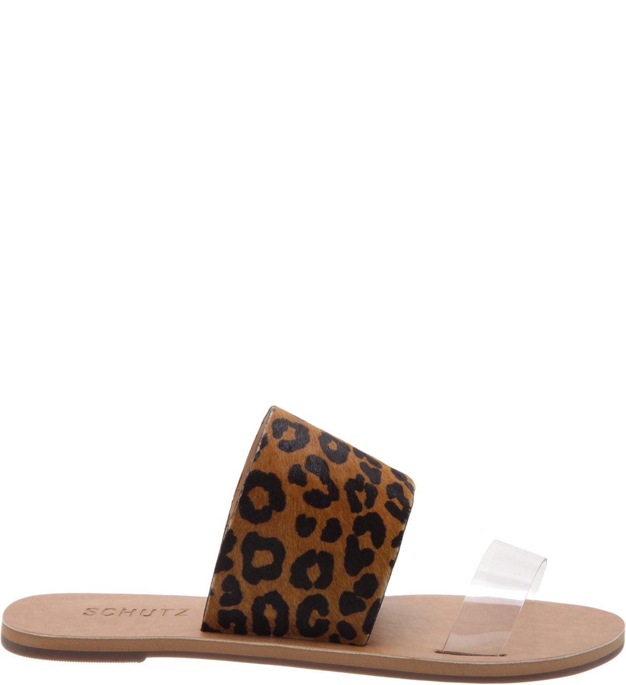 Slide Double Strap Animal Print | Schutz
