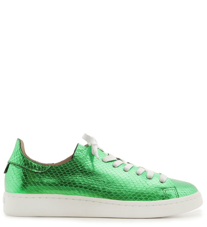 Tênis Ultralight S-Light Snake Metallic Green | Schutz