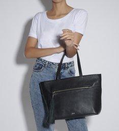 SHOPPING BAG LOUISE BLACK