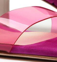Mule Vinil Full Color Pink