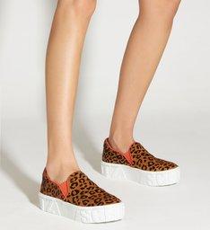 Tênis Slip On Mauli Leopard