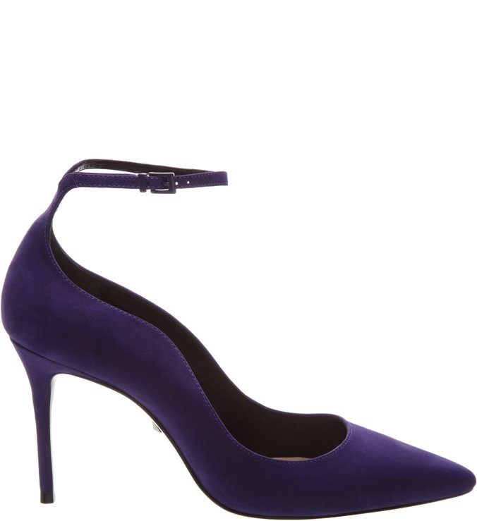 Scarpin Curves Strap Purple