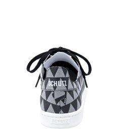 Shoes Schutz Stamp - Tênis Triangle Black