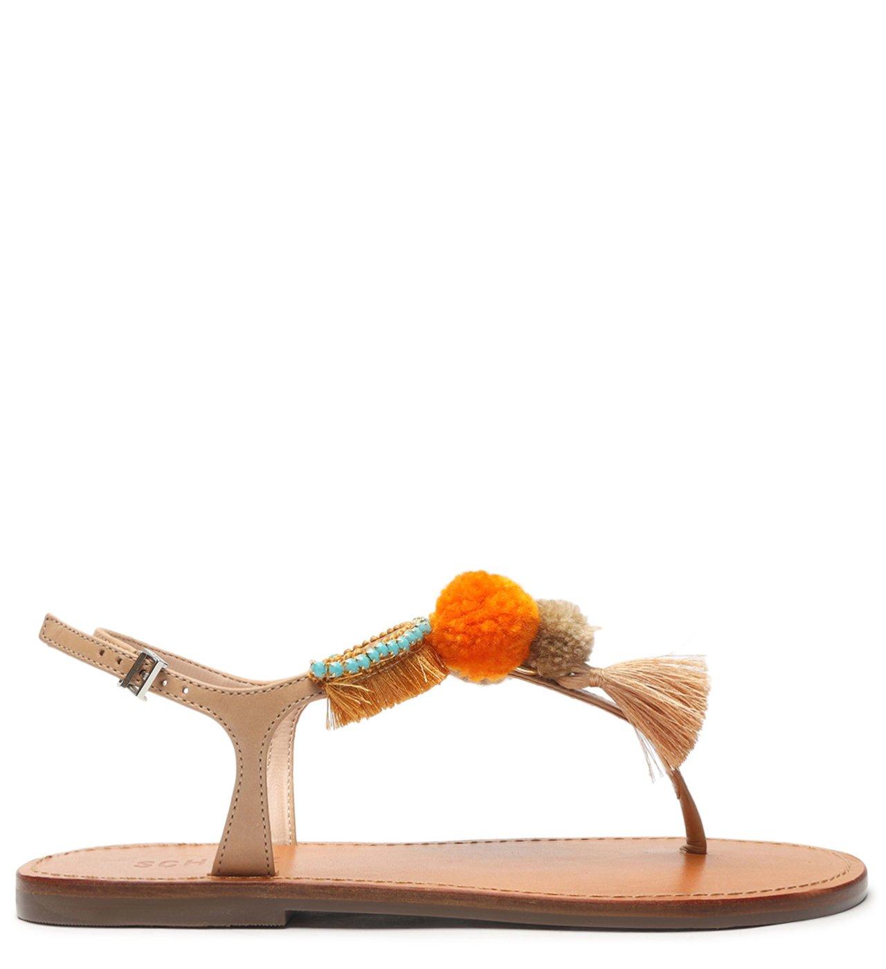 Rasteira Strings Fun Orange | Schutz