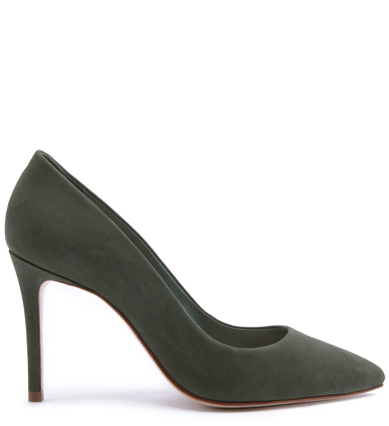 Scarpin Classic Nobuck Emerald | Schutz
