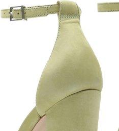 Sandália Gisele Salto Bold Green