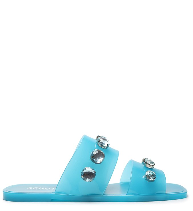 Slide Jelly Studs Acqua