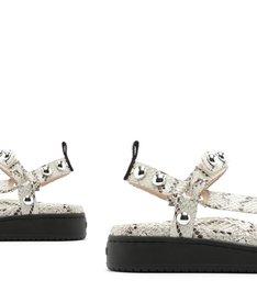 Sporty Sandal Python Studs