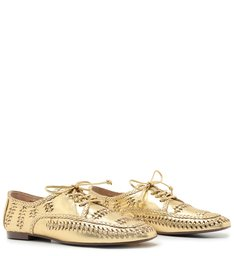 Sapato New Oxford Tressê Gold