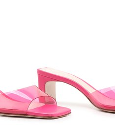 Mule Vinil Pink