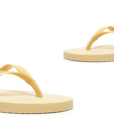 Flip Flop Triangle Yellow