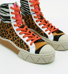 Tênis Urban High Animal Print