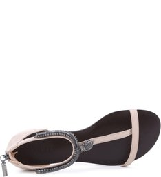 Flat Metalic Anklet Oyster