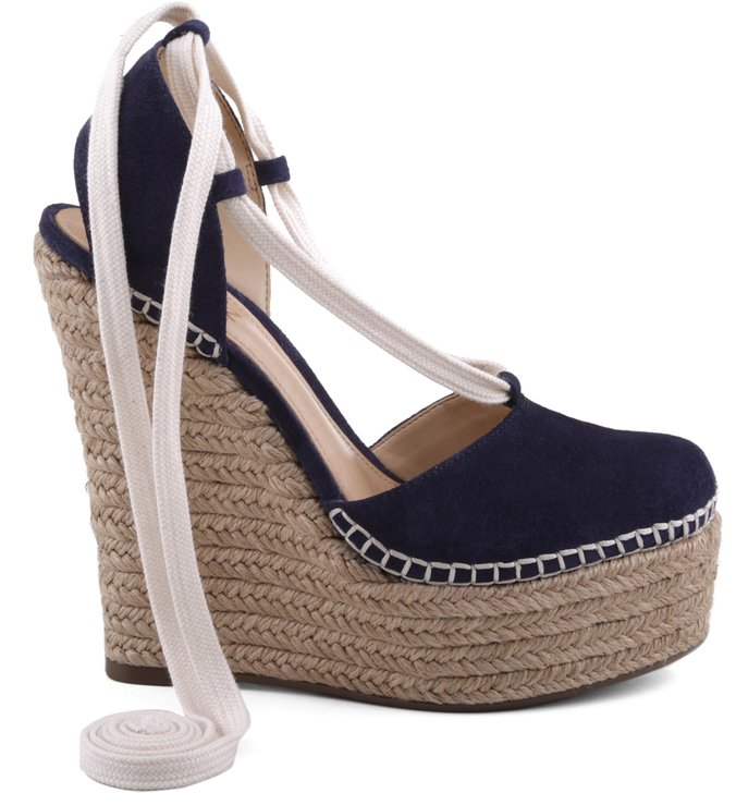 Espadrille Plataforma Dress Blue