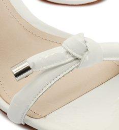Sandália Mule Nó Branca