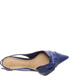 Kitten Heel Cindy Maxi Bow Dress Blue