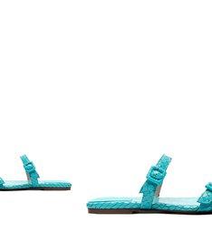 Slide Buckles Snake Acqua
