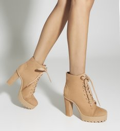 Combat Boot Salto Tratorada Honey