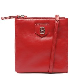 Bolsa Tiracolo Pequena Your Choice Vintage Vermelha