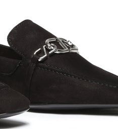 Loafer Minimal Nobuck Black