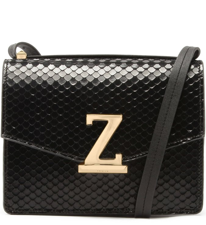 Crossbody Square Letters Black | Schutz
